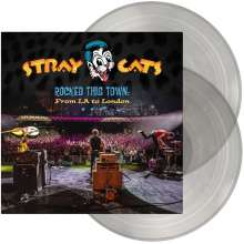 Stray Cats: Rocked This Town: From LA To London (180g) (Limited Edition) (Transparent Vinyl) (exklusiv für jpc), 2 LPs
