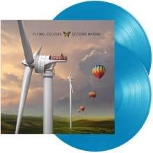 Flying Colors: Second Nature (Reissue) (180g) (Limited Edition) (Light Blue Vinyl), 2 LPs