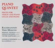 Anton Arensky (1861-1906): Klavierquintett, CD