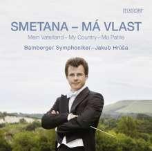 """Bedrich Smetana (1824-1884): Mein Vaterland (incl. """"Die Moldau""""), Super Audio CD"""