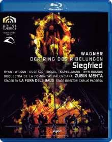 Richard Wagner (1813-1883): Siegfried, Blu-ray Disc