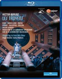 Hector Berlioz (1803-1869): Les Troyens, Blu-ray Disc