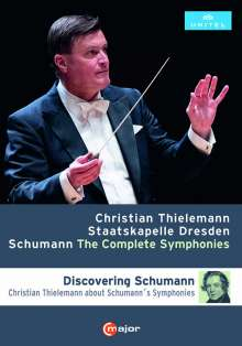 Robert Schumann (1810-1856): Symphonien Nr.1-4, 2 DVDs