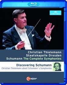 Robert Schumann (1810-1856): Symphonien Nr.1-4, Blu-ray Disc