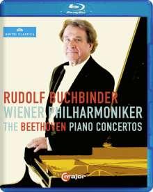 Ludwig van Beethoven (1770-1827): Klavierkonzerte Nr.1-5, Blu-ray Disc
