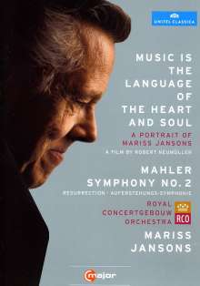 Mariss Jansons - Music is the Language of the Heart & Soul, 2 DVDs