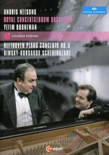 Ludwig van Beethoven (1770-1827): Klavierkonzert Nr.5, DVD