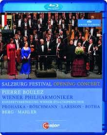 Salzburger Festspiele 2011- Eröffnungskonzert, Blu-ray Disc