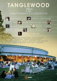 Tanglewood - 75th Anniversary Celebration, DVD