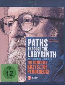 Krzysztof Penderecki (1933-2020): Paths Through The Labyrinths - The Composer Krzysztof Penderecki (Dokumentation), Blu-ray Disc