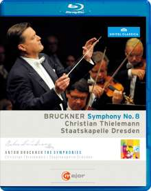 Anton Bruckner (1824-1896): Symphonie Nr.8, Blu-ray Disc