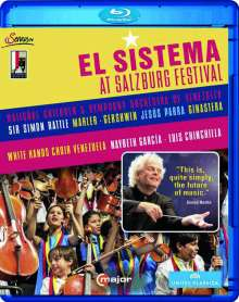 El Sistema at Salzburg Festival 2013, Blu-ray Disc