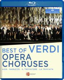 Giuseppe Verdi (1813-1901): Best of Verdi Opera Choruses, Blu-ray Disc