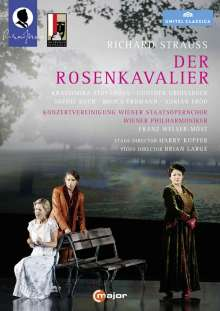 Richard Strauss (1864-1949): Der Rosenkavalier, 2 DVDs