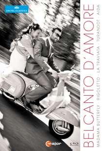 Belcanto D'Amore (5 Operngesamtaufnahmen), 5 Blu-ray Discs