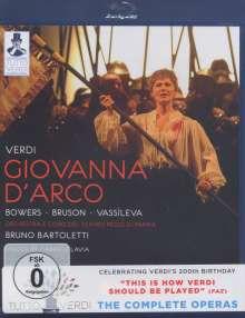 Giuseppe Verdi (1813-1901): Tutto Verdi Vol.7: Giovanna D'Arco (Blu-ray), Blu-ray Disc