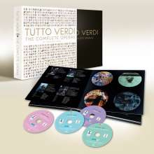 Giuseppe Verdi (1813-1901): Tutto Verdi Premium Box (DVD), 30 DVDs