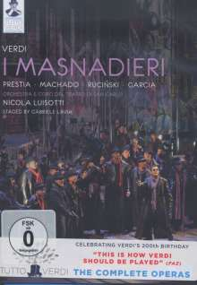 Giuseppe Verdi (1813-1901): Tutto Verdi Vol.11: I Masnadieri (DVD), DVD