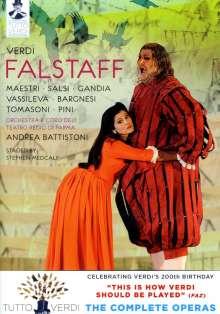 Giuseppe Verdi (1813-1901): Tutto Verdi Vol.26: Falstaff (DVD), DVD
