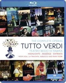 Giuseppe Verdi (1813-1901): Tutto Verdi Sampler (Blu-ray), Blu-ray Disc