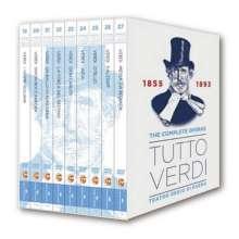 Giuseppe Verdi (1813-1901): Tutto Verdi - The Operas Vol.3 (1855-1893) (DVD), 9 DVDs