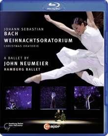 Johann Sebastian Bach (1685-1750): Weihnachtsoratorium BWV 248 (als Ballett-Version von John Neumeier), Blu-ray Disc