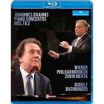 Johannes Brahms (1833-1897): Klavierkonzerte Nr.1 & 2, Blu-ray Disc