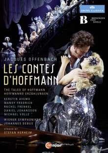 Jacques Offenbach (1819-1880): Les Contes D'Hoffmann, 2 DVDs