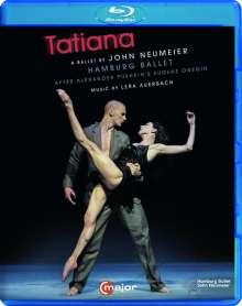 Hamburg Ballett: Tatiana (Musik von Lera Auerbach), Blu-ray Disc