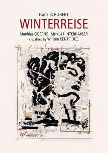 Franz Schubert (1797-1828): Winterreise D.911 (Visualisiert von William Kentridge), Blu-ray Disc
