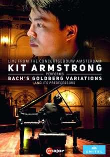Johann Sebastian Bach (1685-1750): Goldberg-Variationen BWV 988, DVD