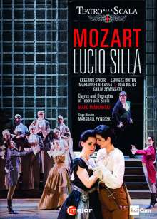 Wolfgang Amadeus Mozart (1756-1791): Lucio Silla, 2 DVDs
