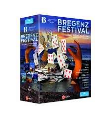 Bregenzer Festspiele (5 Opern-Inszenierungen), 5 Blu-ray Discs