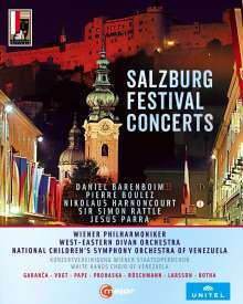 Salzburger Festspiele - Konzerte 2007-2013, 6 Blu-ray Discs