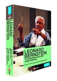 Leonard Bernstein at Schleswig-Holstein Musik Festival 1988, 3 DVDs