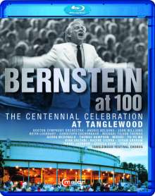 Bernstein at 100 - The Centennial Celebration at Tanglewood, Blu-ray Disc