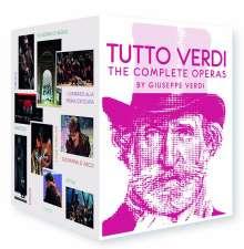 Giuseppe Verdi (1813-1901): Tutto Verdi - The Complete Operas (Blu-ray), 27 Blu-ray Discs