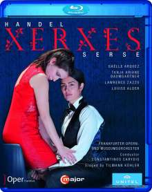 Georg Friedrich Händel (1685-1759): Xerxes, Blu-ray Disc