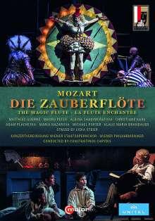 Wolfgang Amadeus Mozart (1756-1791): Die Zauberflöte, 2 DVDs