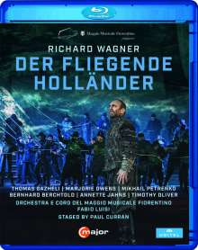 Richard Wagner (1813-1883): Der Fliegende Holländer, Blu-ray Disc