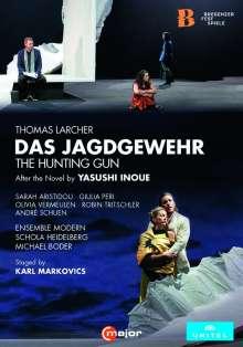 Thomas Larcher (geb. 1963): Das Jagdgewehr (Oper nach der Novelle von Ysushi Inoue), DVD