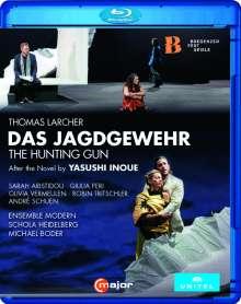 Thomas Larcher (geb. 1963): Das Jagdgewehr (Oper nach der Novelle von Ysushi Inoue), Blu-ray Disc