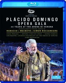 "Placido Domingo - Opera Gala ""50 Years at the Arena di Verona"", Blu-ray Disc"