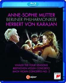 Anne-Sophie Mutter & Herbert von Karajan - Violinkonzerte, Blu-ray Disc