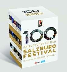 100 Anniversary Edition Salzburg Festival - 100 Jahre Salzburger Festspiele, 17 DVDs