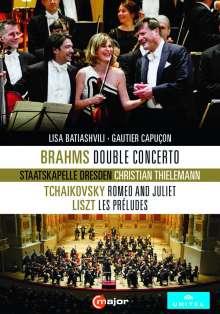 Johannes Brahms (1833-1897): Konzert für Violine,Cello & Orchester h-moll op.102, DVD