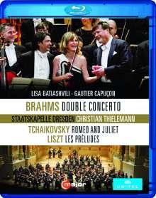Johannes Brahms (1833-1897): Konzert für Violine,Cello & Orchester h-moll op.102, Blu-ray Disc