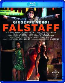 Giuseppe Verdi (1813-1901): Falstaff, Blu-ray Disc