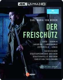 Carl Maria von Weber (1786-1826): Der Freischütz (4K Ultra-HD), Blu-ray Disc