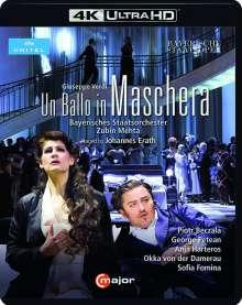 Giuseppe Verdi (1813-1901): Un Ballo in Maschera (4K Ultra-HD), Ultra HD Blu-ray